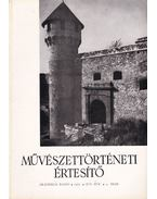 Művészettörténeti Értesítő XVI. évf. 3. szám - Pogány Ö. Gábor