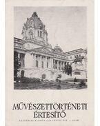 Művészettörténeti értesítő XXVII. évf. 4. szám - Pogány Ö. Gábor dr.