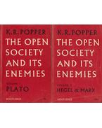 The Open Society and Its Enemies Volume 1-2. - Popper, Karl R.