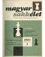 Magyar sakkélet 1981/1982 (teljes) - Portisch Lajos