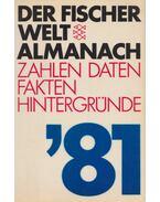 Der Fischer Weltalmanach 1981 - Prof. Dr. Gustav Fochler-Hauke