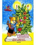 Karácsonyi ajándékok  - Kifestő - foglalkoztató - Radvány Zsuzsa