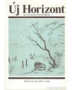 Új Horizont 2003. 3. szám - Raffai István