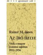 Az író helye - Rainer M. János