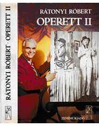 Operett II. - Rátonyi Róbert