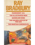 Fahrenheit 451 / The Illustrated Man / Dandelion Wine / The Golden Apples of the Sun / The Martian Chronicles - Ray Bradbury