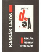 Kassák Lajos: Reklám és modern tipográfia - Csaplár Ferenc