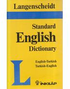 Standard English Dictionary of the English and Turkish Languages - Resuhi Akdikmen