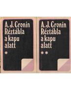 Réztábla a kapu alatt I-II. kötet - A. J. Cronin