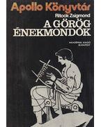 A görög énekmondók - Ritoók Zsigmond