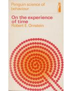 On the Experience of Time - Robert Evan Ornstein