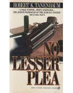 No Lesser Plea - Robert K. Tanenbaum