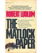 The Matlock Paper - Robert Ludlum
