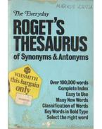 The Everyday Roget's Thesaurus of Synonyms & Antonyms - Roget, Peter Mark