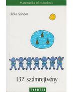 137 számrejtvény - Róka Sándor