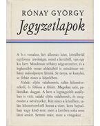 Jegyzetlapok - Rónay György