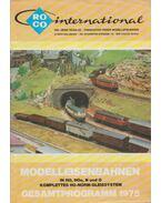 ROCO International Modelleisenbahnen Gesamtprogramm 1975 - Rössler, Heinz