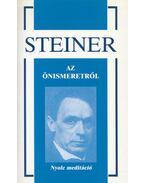 Az önismeretről - Rudolf Steiner