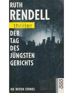 Der Tag des Jüngsten Gerichts - Ruth Rendell