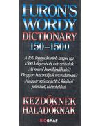 Huron's Wordy Dictionary 150-1500 - Salamon Gábor, Zalotay Melinda
