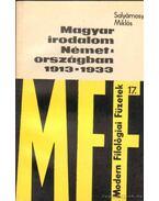 Magyar irodalom Németországban 1913-1933 - Salyámosy Miklós
