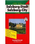 Salzburg-Stadt térkép