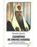 Ezeréves az orosz egyház - Santini, Alceste