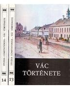 Studia Comitatensia 13-14. - Vác története - Sápi Vilmos, dr.
