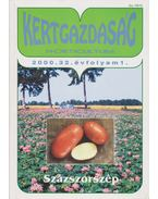 Új kertgazdaság 2000/1 - Sass Pál
