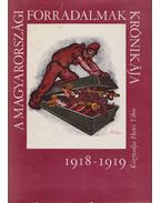 A magyarországi forradalmak krónikája 1918-1919 - Hetés Tibor