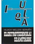 Elektrotechnikai számítások - Meluzin, Hubert, Hajach, Thomas, Bernáth, Jozef