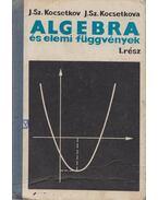 Algebra és elemi függvények I. - J. Sz. Kocsetkov, J. Sz. Kocsetkova
