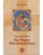 Kis magyar művelődéstörténet - Nemeskürty István