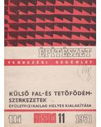 Külső fal- és tetőfödémszerkezetek épületfizikailag helyes kialakítása - Molnár Béla