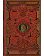Schiller's Werke I-IV. (gót betűs) - Schiller, Friedrich