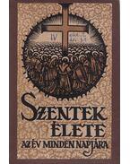 Szentek élete az év minden napjára IV. kötet - Schütz Antal (szerk.)