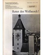 Rettet den Weißstorch! (Mentsd meg a fehér gólyát!) - Schüz, Ernst