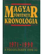 Magyar történeti kronológia 1971-1990 - Seifert Tibor