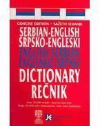 Serbian-English English-Serbian Dictionary