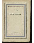 Szent Johanna - Shaw, G.B.