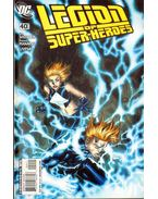 Legion of Super-Heroes 40. - Shooter, Jim, Manapul, Francis