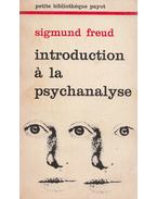 Introduction á la psychoanalyse - Sigmund Freud