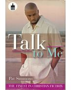 Talk to Me - SIMMONS, PAT