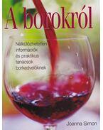 A borokról - Simon, Joanna