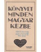 Singer és Wolfner Irodalmi Intézet új könyvei 1940. ősz