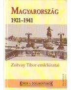 Magyarország 1921-1941 - Sipos Péter