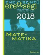 Emelt szintű érettségi - Matematika 2018 - Siposs András