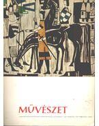 Művészet 1967 február VIII. évf. 2. szám - Solymár István
