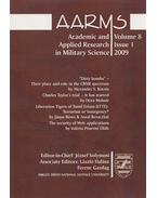 AARMS Volume 8, Issue 1 - 2009 - Solymosi József