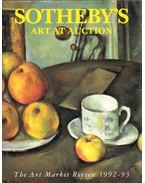 Sotheby's Art at Auction: The Art Market Review 1992-93